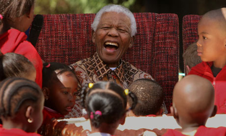 A true inspiration to our children – Nelson Mandela