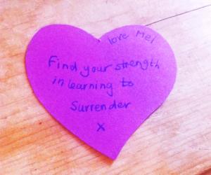 surrender-