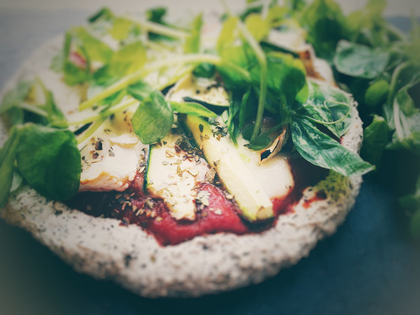 Buckwheat & Chia Seed Pizza